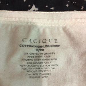Cacique Intimates & Sleepwear - Cacique 3 pair (2-panties size 14/16,1 pair-18/20)